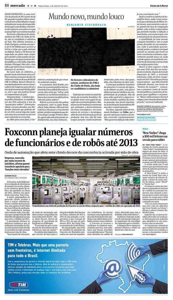 13fa1c05470fe Edição Digital - Folha de S.Paulo - Pg NO8